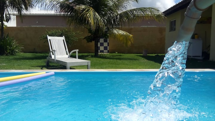 Casa condomínio parque de Jacuípe 50 mts da praia!