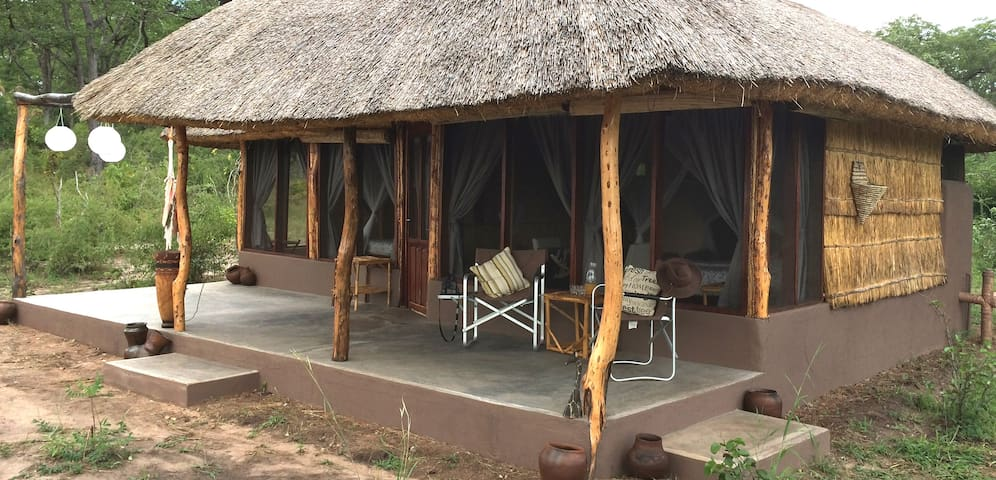 Unieke bush cottages in prachtig South Luangwa