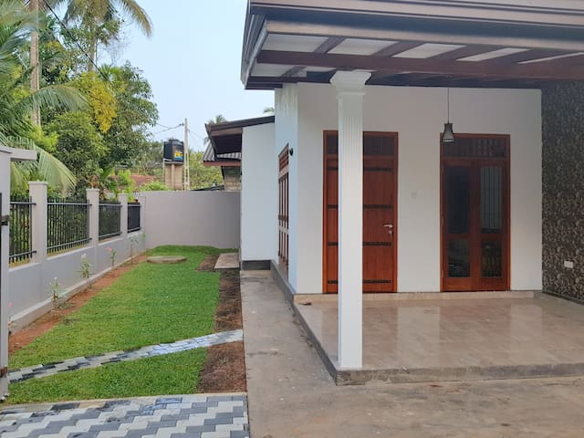 Newly Build 2 Bedroom F/F house for long term rent