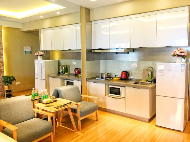 大床双床随心换!Konorth's Studio Apartment/Konorth的舒适公寓