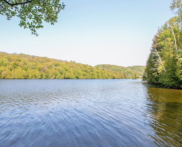 Grand chalet bord de lac (le panache)