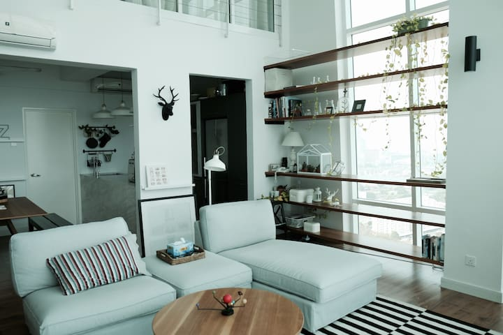 Scandinavian Duplex at Georgetown - George Town - Appartement