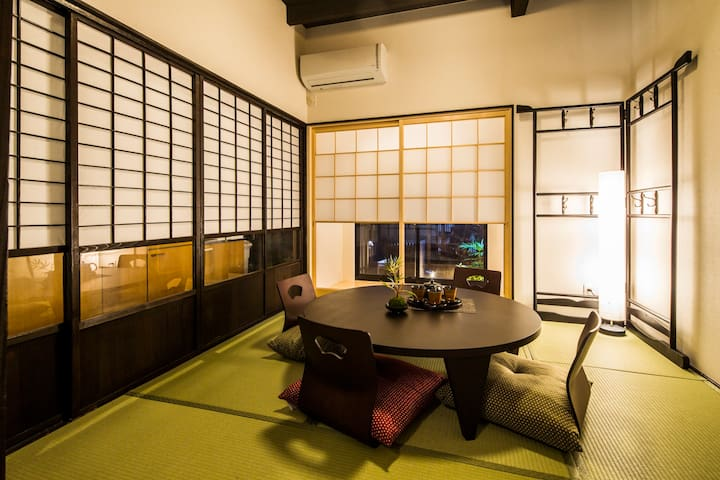 Close to Kyoto st./Walk on 5min./ Tradional home.