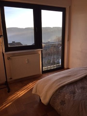 "Wonderfull place with a great view! Room ""Tanja"" - Altendiez - Apartemen"