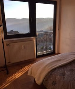 "Wonderfull place with a great view! Room ""Tanja"" - Altendiez"