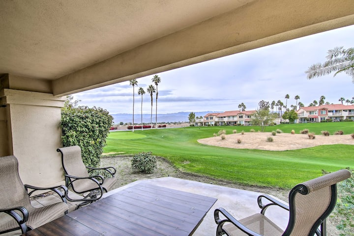 NEW! Palm Royale CC Apt w/Golf Course & Mtn Views!