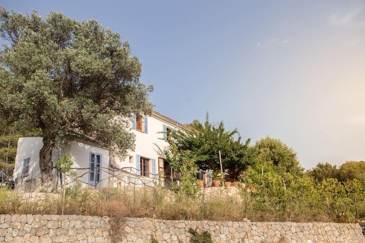 casa mar y montaña en Mallorca