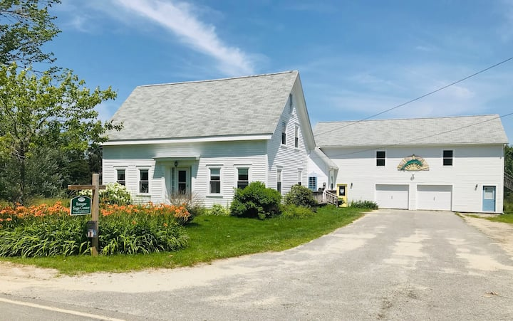 Maine Coast Farmhouse on 10 Acres - Long Stay
