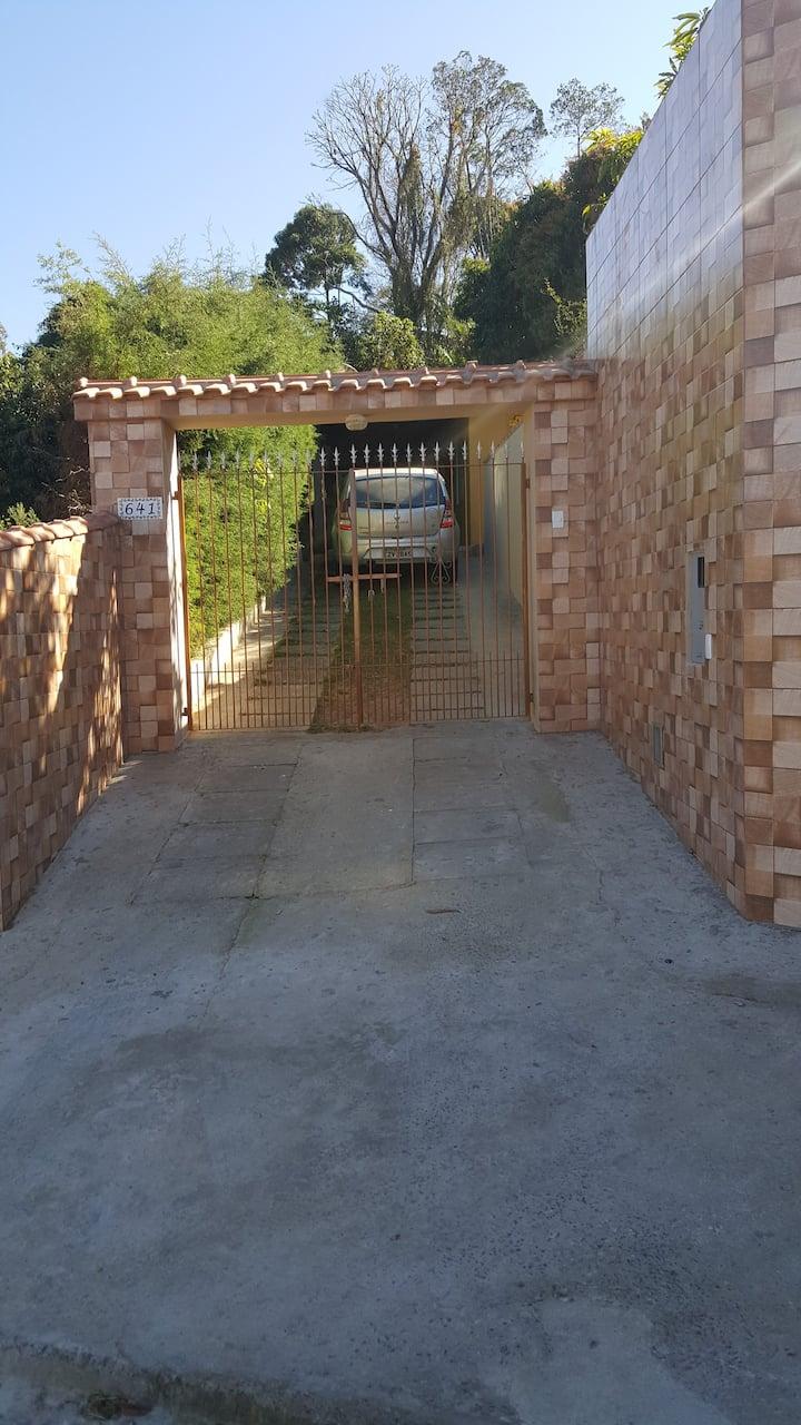 Casa com piscina temporada em Serra Negra