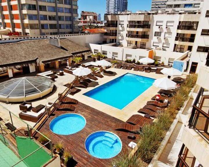 Apart Hotel a 1 cuadra de Gorlero y 2 de la playa
