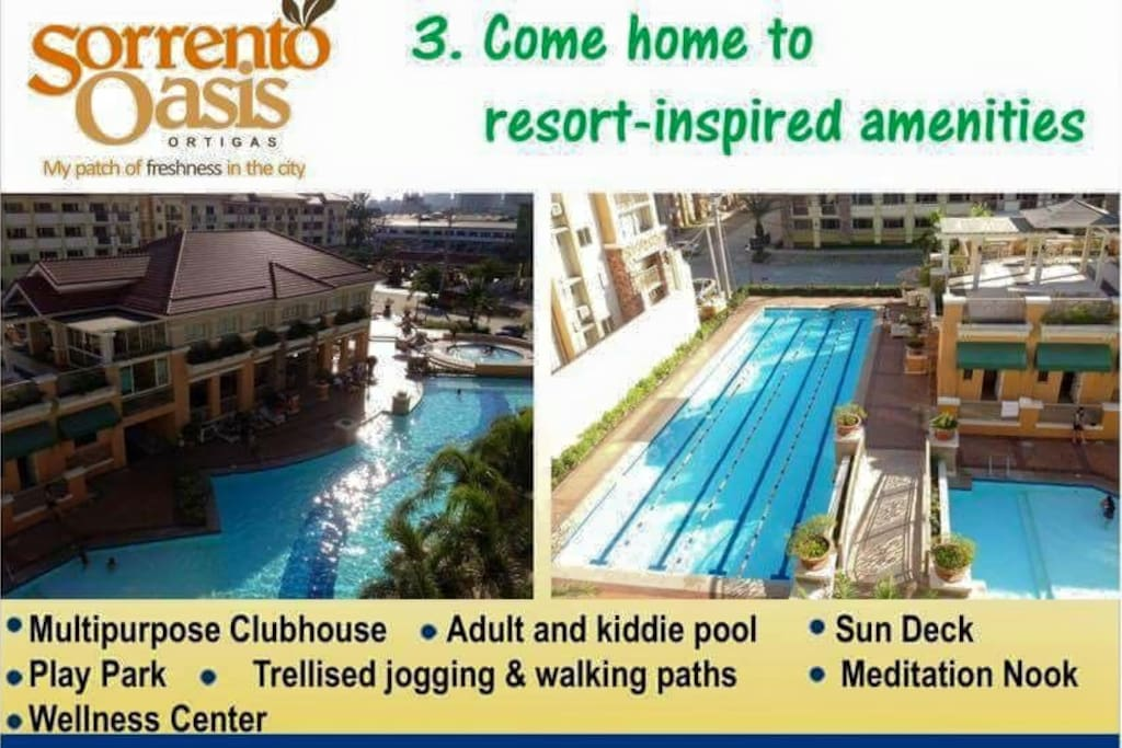 Immerse yourself in the resort's ammenities to keep you, your friends and your family entertained.