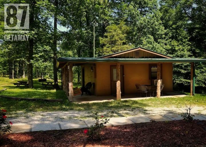 The Hwy 87 Getaway Cabin #1