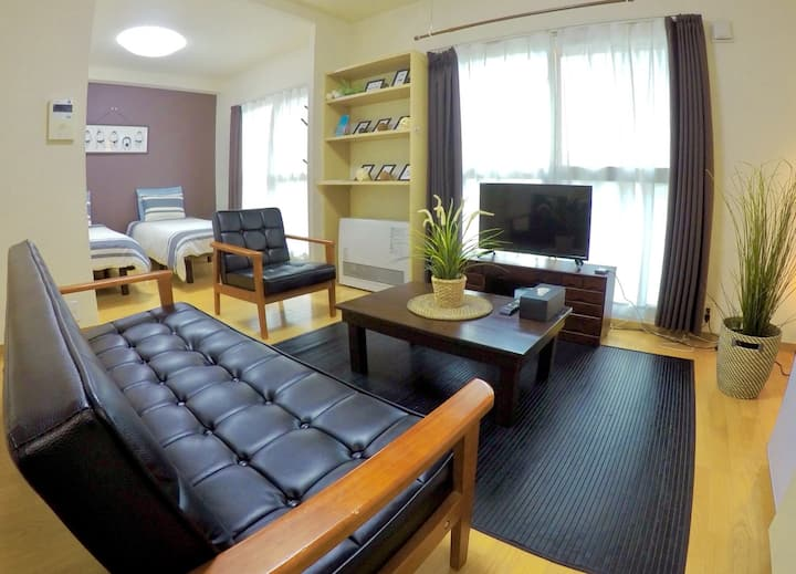 Hi Baby! * Free Parking*Susukino/2Bed Rooms/WiFi