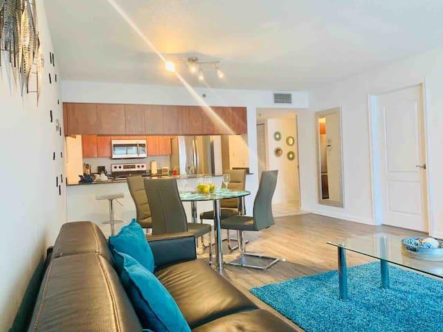 Entire apartment in a Luxury Condominium.