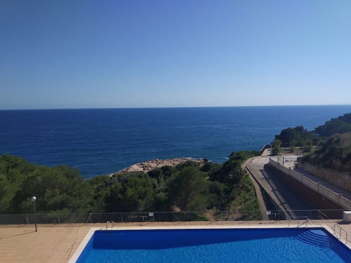 Fabuloso apartamento con vistas al mar