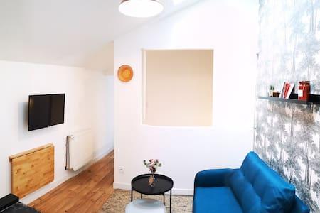 Charmant studio indépendant dans maison en pierre
