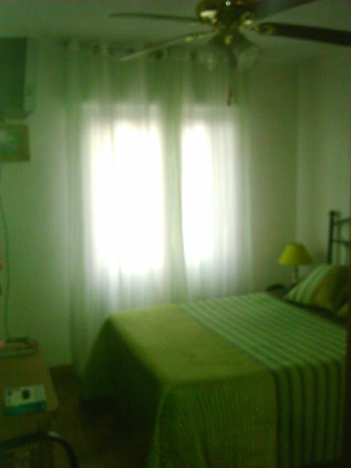 From Madrid to paradise in my room