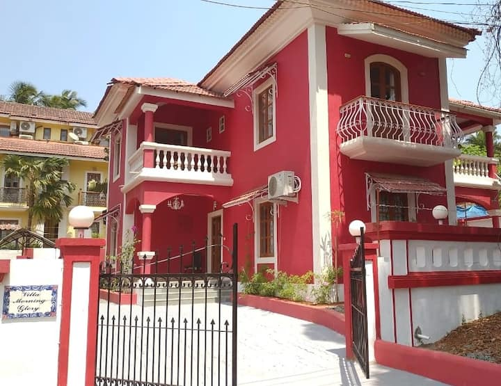 Villa Morning Glory - 4BHK Luxury Home near Beach