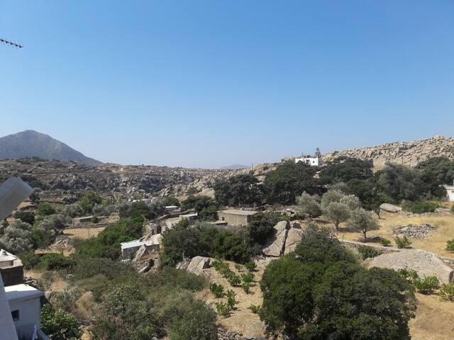 House in Khalki, naxos