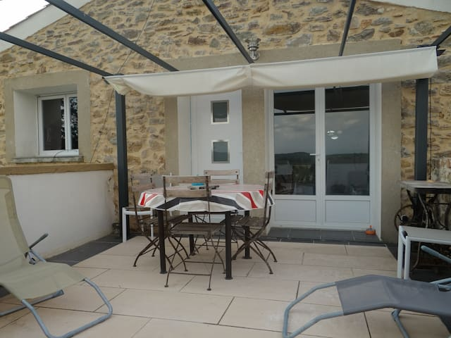 GÏTE: LE RELAIS DU BOUCHON T5 ( 90 m2 ) - Saint-Nazaire-d'Aude - Apartment