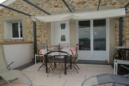GÏTE: LE RELAIS DU BOUCHON T5 ( 90 m2 ) - Saint-Nazaire-d'Aude