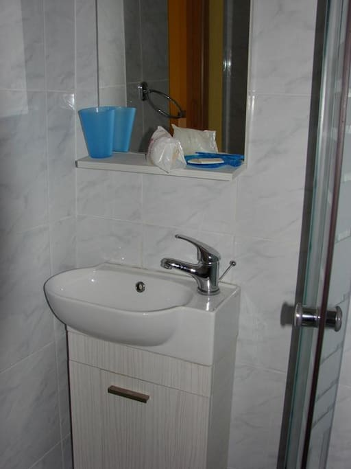 la salle de bains : lavabo