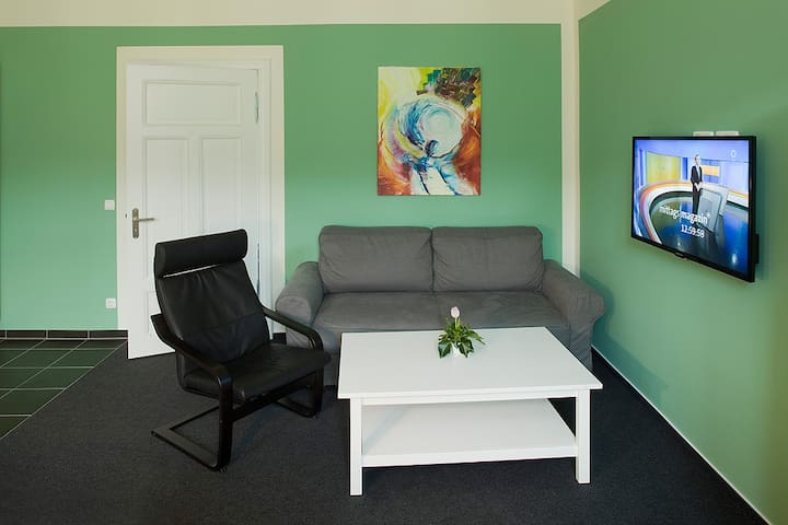Grüne Wohnung 110 - Fürstenberg/Havel - Apartemen