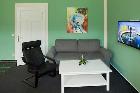 Grüne Wohnung 110 - Fürstenberg/Havel - Apartment