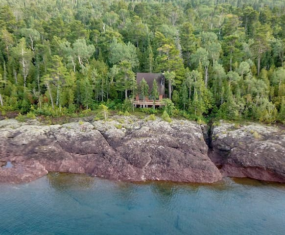 True North Cabin on Lake Superior by Copper Harbor