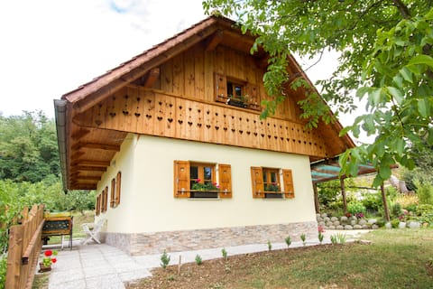 Country House Srček with Two Bedrooms & Great View