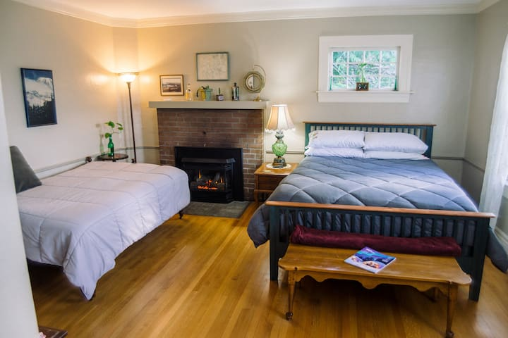 The Master Suite (aka Room 1) - a private space
