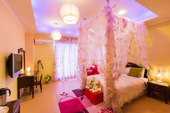 風清雅筑-浪漫公主雙人房 - Wujie Township - Villa