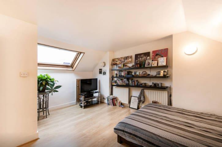 Spacious Loft-Conversion Bedroom