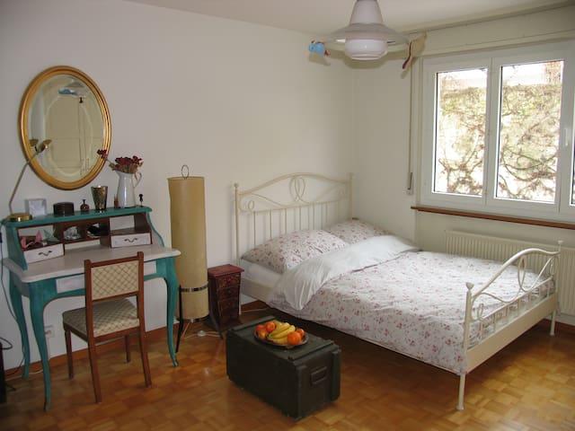 Magnifique chambre à Neuchâtel - Neuchâtel - Flat