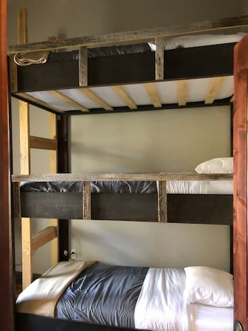 The Avon-Bunk in Triple Bunk Room/Shared Bathroom