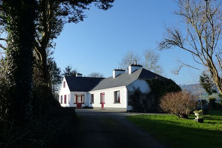 Double bedroom in traditional music farmhouse - Corofin