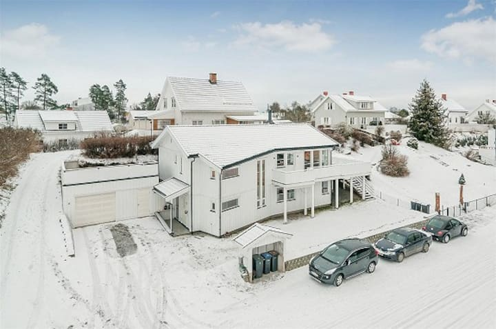 House close to Hamar city centre