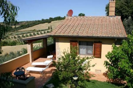 Cottage with breathtaking view - Casale Marittimo