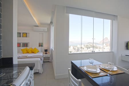 2 - FLAT WITH SUGAR LOAF MOUNTAIN VIEW 203 /303 - Rio - Appartement
