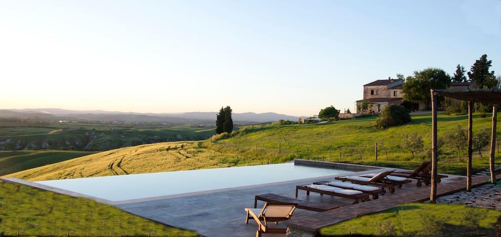 The Lazy Olive -  villa with pool - Asciano - Villa