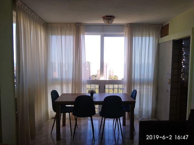 Apartment in Benidorm. Amazing view!
