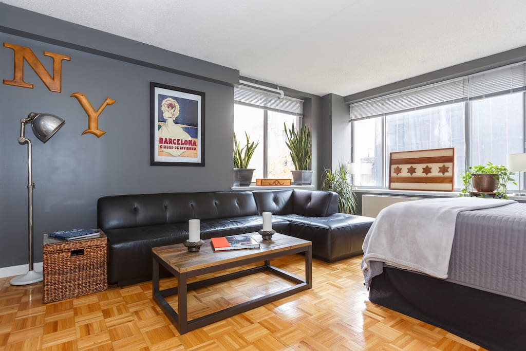 Beautiful spacious 1 bedroom in les apartments for rent for Beautiful apartments in nyc