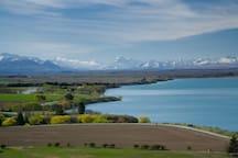 Overlooking Lake Benmore