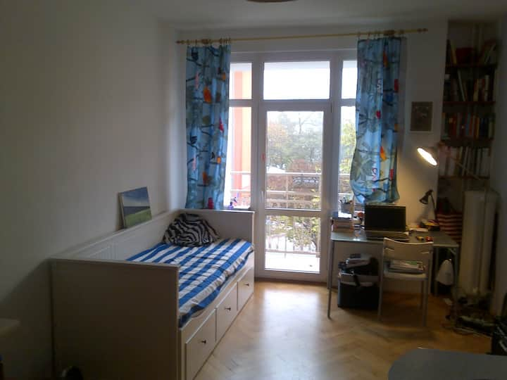 double room for rent in 2 rooms appartament