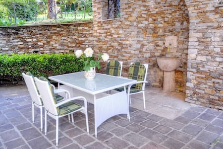 Apartment with nice patio & garden - Stresa