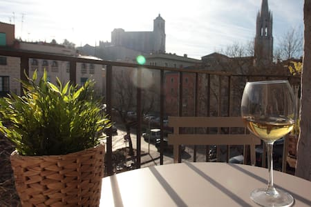 ***** Sunny Penthouse In Old Town B - Girona