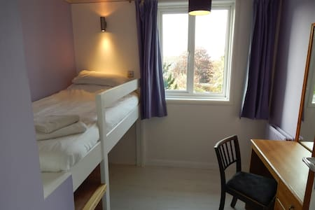 Compact newly refurbished room