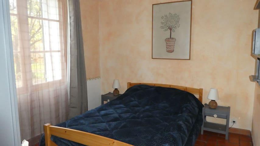 Chambre parentale (lit double 140/190 cm) Couette 240/220