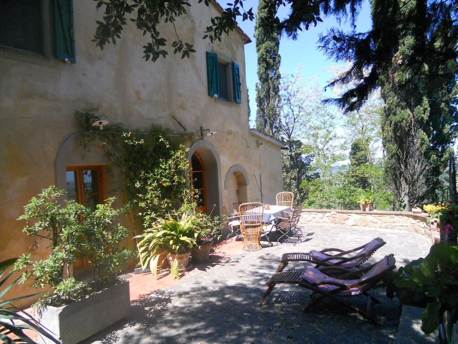 Beautiful private house panorama houses for rent in for Rent a house in tuscany