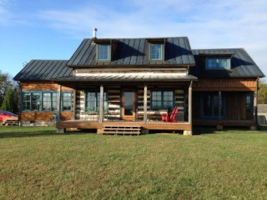 Log home w shenandoah valley views cabins for rent in for Log cabins in shenandoah valley